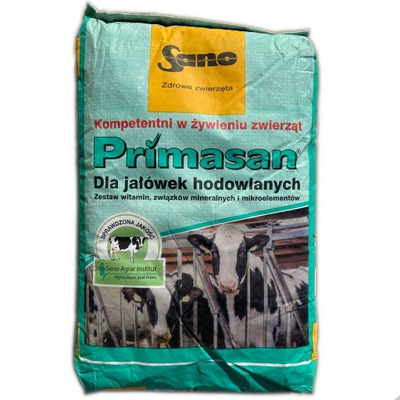 Primasan витамины минералы  для крупного рогатого скота коров телок
