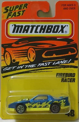 Matchbox 1995-96r Pontiac Firebird Racer