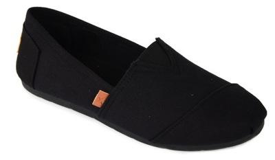 Damskie buty półbuty baleriny typu Toms NR 39