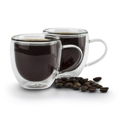 FILIŻANKI do espresso szklane AMBITION 100 ml 2szt