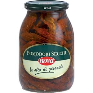 Итальянские сушеные Помидоры в масле NOVA 980g