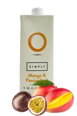 СМУЗИ/ПЮРЕ Simply Манго &Passionfruit 1л