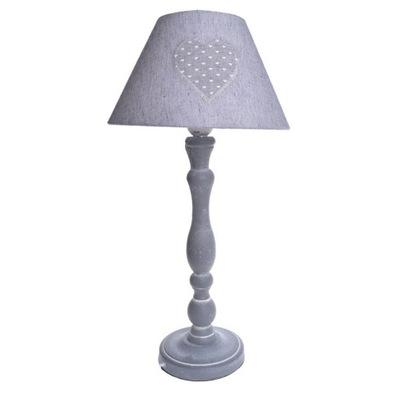 Lampy, nočné svetlo pre spálne šedá retro vintage