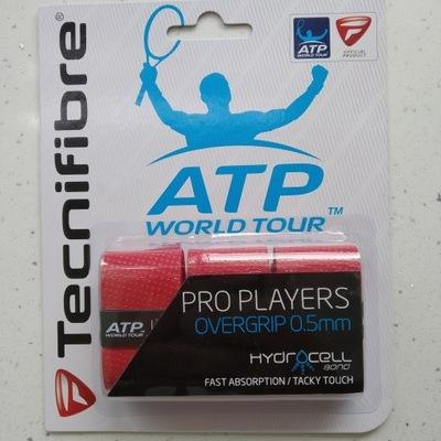 Okazja ! Owijki ATP Tecnifibre Pro Players 3P-red