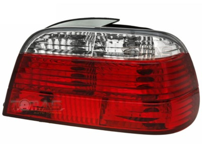 ФОНАРИ ЗАДНЕЕ BMW E38 СЕДАН CLEAR RED