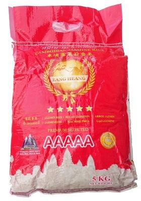 Ryż Jaśminowy 5 kg SUPER PREMIUM AAAAA