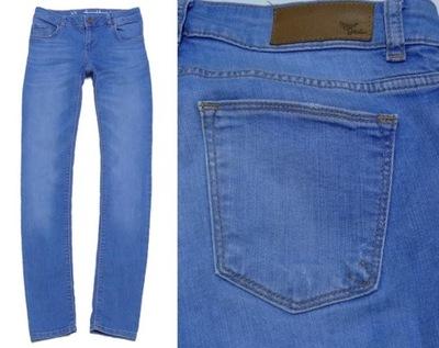 NEVER DENIM spodnie rurki blue jeans r.40L 6750043359