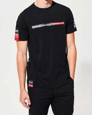 Diverse Koszulka T shirt Męska Szara L