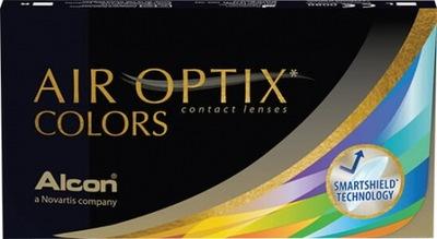 Air Optix Colors Blue 2 szt. moc -8.00