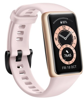 Różowy Smartband HUAWEI Band 6