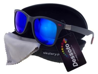 Okulary przeciwsłoneczne polaryzacja nerdy kujonki