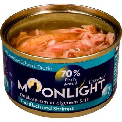 Moonlight Dinner nr 7 Tuńczyk i Krewetki 80 g