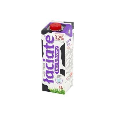 Mleko UHT bez laktozy 3,2 % 1 l