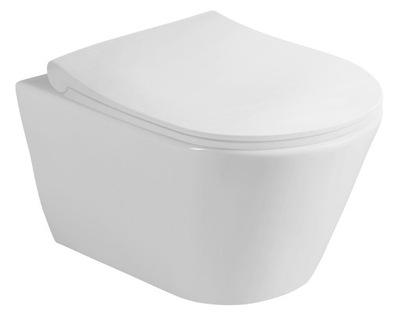 миска туалет с функцией биде bezrantowa AVVA +аккумулятор