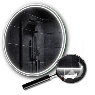 Okrúhle LED zrkadlo, prepínač pohybu 100 cm