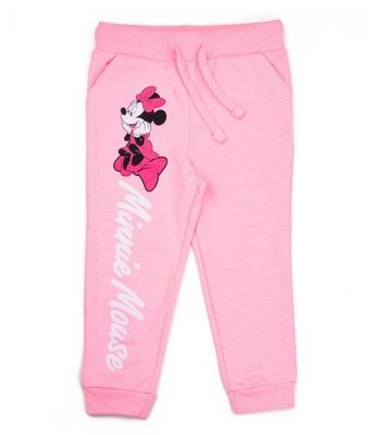 Spodnie dres Myszka Minnie Dziewczynka 122 Sinsay