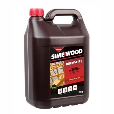 DREW-FIRE 5L przeciwogniowy impregnat do drewna