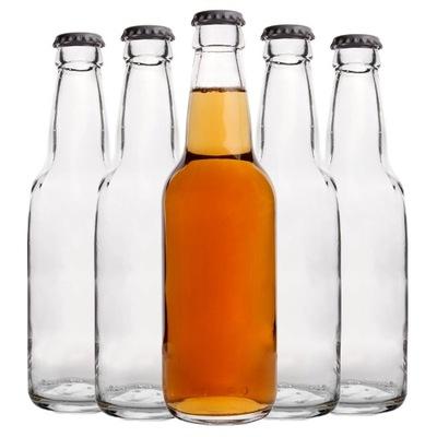 20XButelka szklana 330ML na oranżadę, sok, piwo