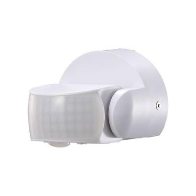 Czujnik ruchu i zmierzchu podczerwień 600W biały