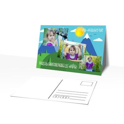 Фото открытка с Вашей фотографией