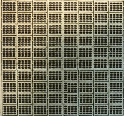 плита бетонная ДЖАМБО ( ажурные плиты ) , масштаб HO 80 штук
