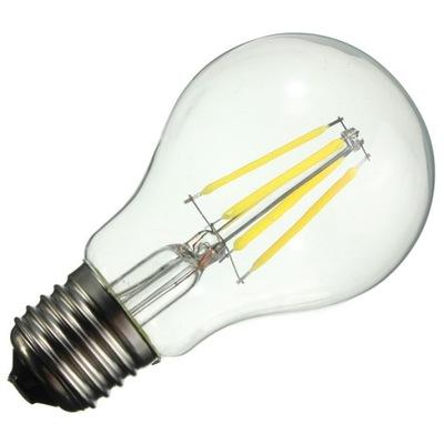 ЛАМПА FILAMENT Декоративная LED E27 A60 6W 2700K