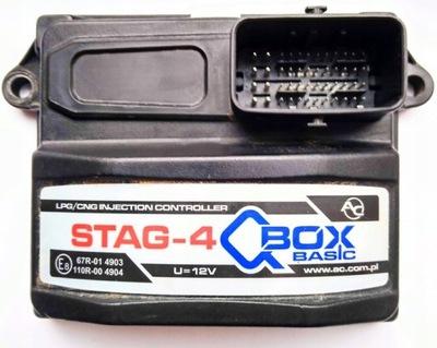 STAG QBOX BASIC STAG-4 БЛОК УПРАВЛЕНИЯ КОМПЮТЕР LPG