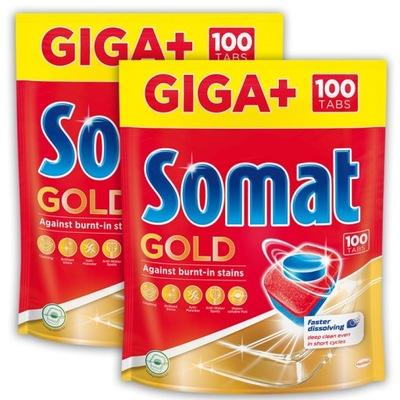 Somat Tabletki do Zmywarki Gold 200 szt XXL