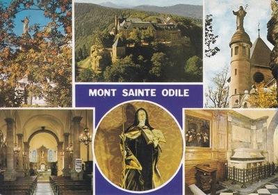 Франция - MONT SAINTE ODILE - АББАТСТВО