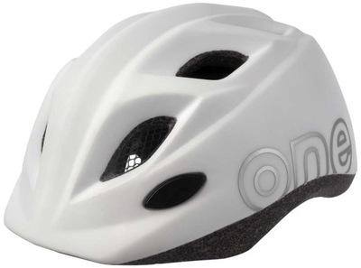Dziecięcy kask rowerowy Bobike One Plus S biały