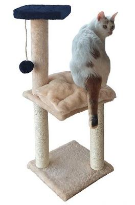 Škrabadlo na mačky LAYING hračka + catnip 100cm