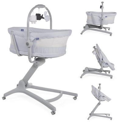 CHICCO Baby Hug 4w1 Air Leżaczek krzesełko Stone
