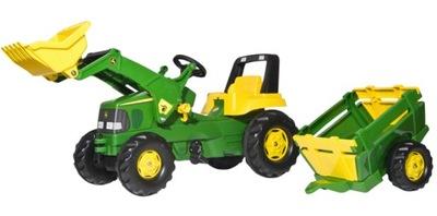 ROLLY TOYS Traktor na pedały JOHN DEERE - DUŻY