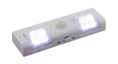 8 LED svetlo S POHYBOVÝM SENZOROM WHITE