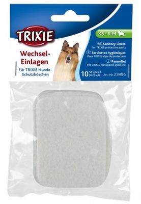 Wkładki higieniczne do majtek dla psa XS,S,SM 10sz