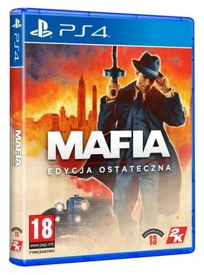 Mafia: Edycja Ostateczna PS4