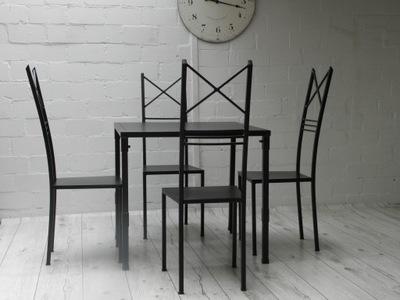 стол 80x80 см 4 стулья Артистизм Сиденье металлические