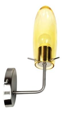 Lampa ścienna kinkiet 1X60W E27 nikiel mat MELOT
