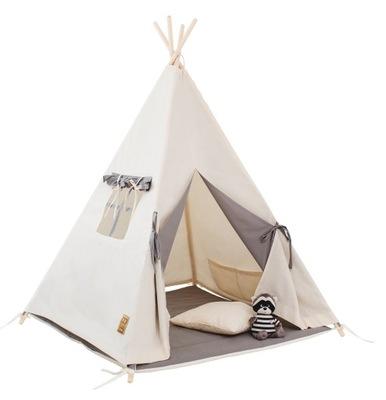 Палатка tipi ??? ребенка натуральная Серый