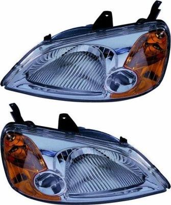 REFLEKTORY LAMPY HONDA CIVIC VII 7 00-05 KPL DEPO