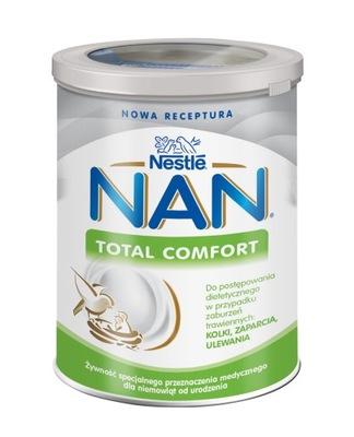 NESTLE NAN TOTAL COMFORT zaparcia kolki 400g