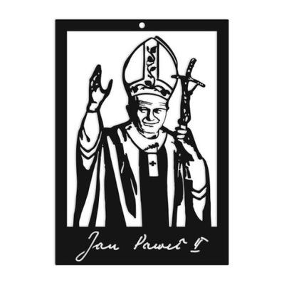 Изображение Иоанн Павел II металлический 100 instagram Рождения