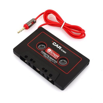 ADAPTADOR CAR IC800 MP3 MP4 DVD PLAYER 3,5 MM NEGRO