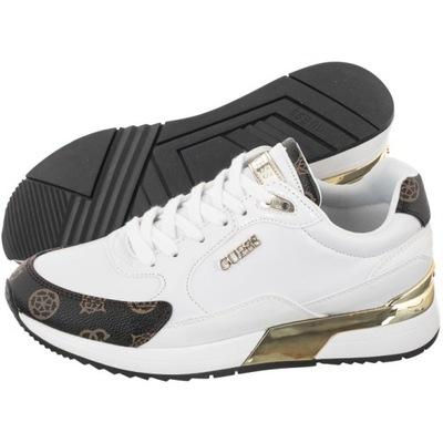 Buty Damskie Sneakersy Guess Moxea FL5MOX Białe