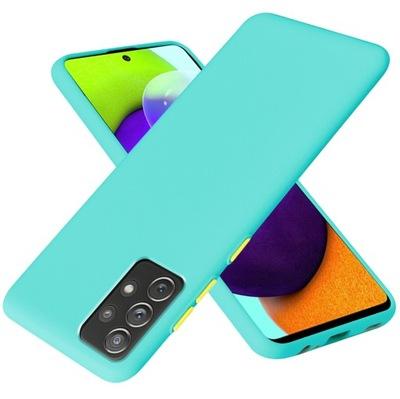 Etui Case Silikon + Szkło do Samsung A52 / A52s 5G