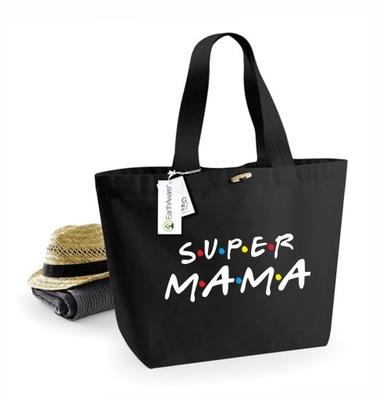 SUPER MAMA Torba prezent na Dzień Mamy EKO ZAKUPY