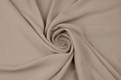 Tkanina American Krepa kolor jasny beż