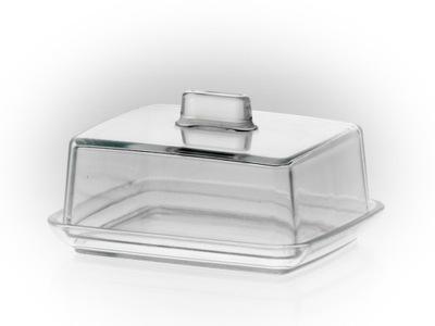 Maselnica szklana z pokrywą 14,5 cm [5741]