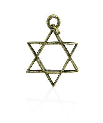Gwiazda Dawida złota