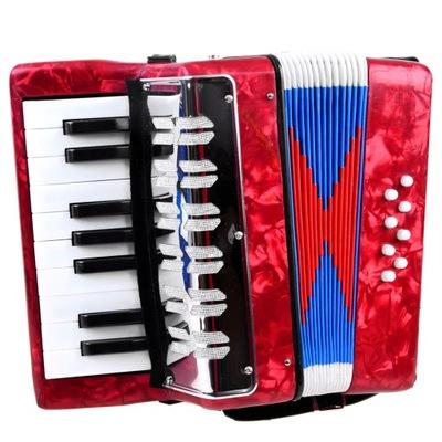 Duży muzyczny akordeon dla dzieci harmonia IN0148